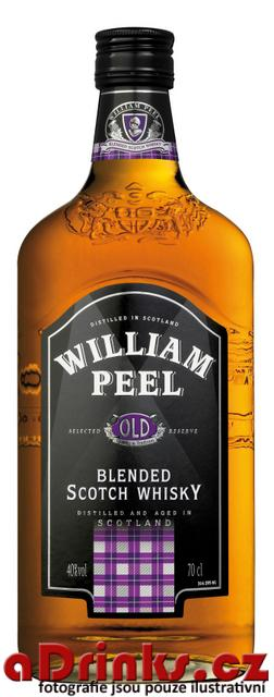William Peel Scotsch Whisky    70 cl  40%