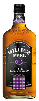 William Peel Scotsch Whisky               1 L  40% - 1677