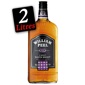 William Peel Scotsch Whisky               2 L  40% - 1679