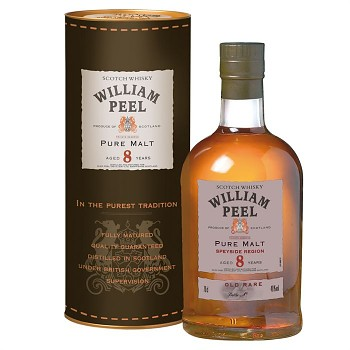 William Peel Blended Malt 8 y.        70 cl 40% - 1682