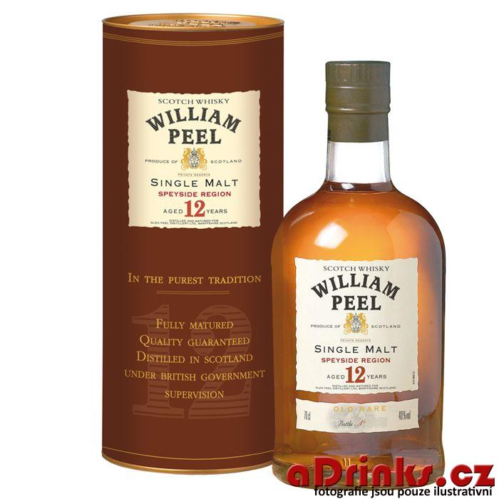 William Peel Single Malt 12 y.           70 cl 40%
