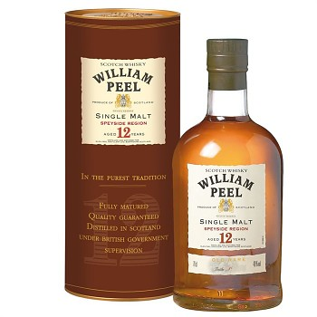 William Peel Single Malt 12 y.           70 cl 40% - 1683