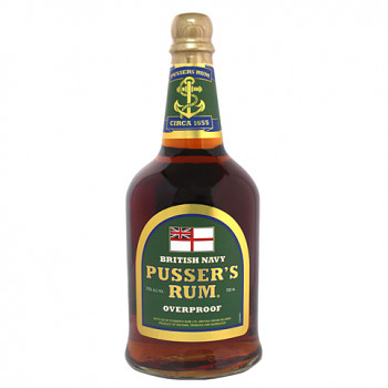Pussers   British Navy Rum Overproof Green Label 0,7l 75%