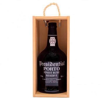 Porto Presidential Finest Ruby Reserve 0,75l 19% + dřevěný box