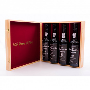 Porto Presidential 100 years of Port 4x0,375l dárková kazeta 20%