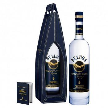 Beluga Transatlantic Vodka - Leather Box 40% 0,7l