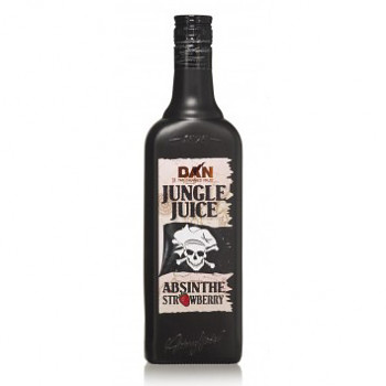 Absinth Strawberry Jungle Juice 30% 0,7l