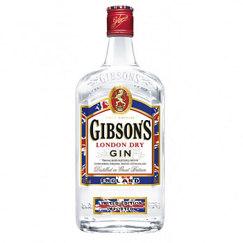 Gibson dry gin 0,7l 37,5%