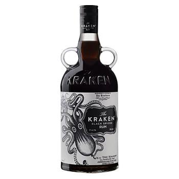 Kraken Black Spiced Rum 1l 40%
