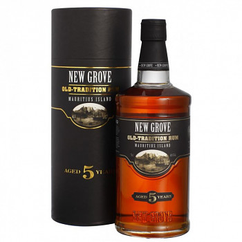 New Grove   Old Tradition 5yo Rum 0,7l 40%