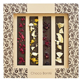 Tabulková hořká, mléčná čokoláda extra 60g. T514