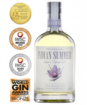 Indian Summer Saffron Infused Gin 0,7l 46%