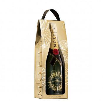 Moët & Chandon Bursting bubbles bottle gift bag 0,75l 12%