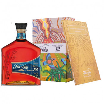Flor de Caňa Centenario 12yo Rum 1l 40%
