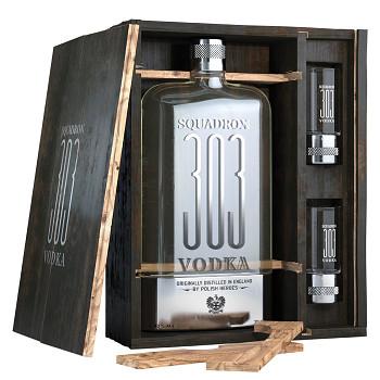 Squadron 303 Vodka dárková kazeta 2x sklo 0,7l 40%