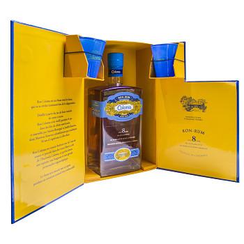 Coloma Rum 8yo 0,7l 40% + dárková kazeta
