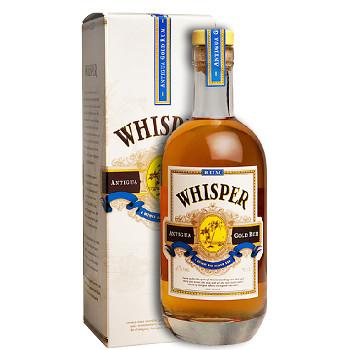 Whisper Antiqua Gold Rum 0,7l 40% + dárkový kartonek