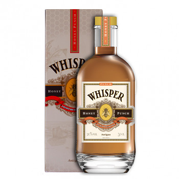 Whisper Honey Punch Rum Liqueur 0,5l 20% + dárkový kartonek