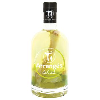 """Ti Rhum Arrangés Lemon Ginger """"GWAMARÉ"""" 0,7l 32%"""