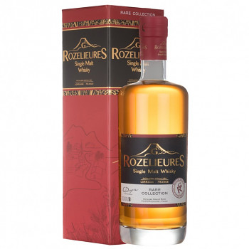Rozelieures Rare French Single Malt Whisky 0,7l 40% + GB