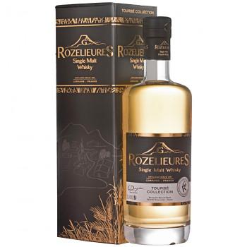 Rozelieures Tourbé French Single Malt Whisky 0,7l 46% + GB