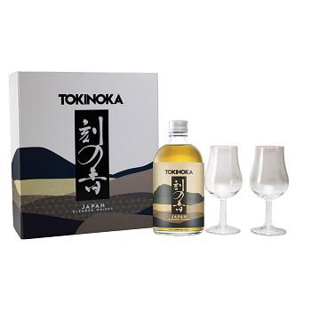 Tokinoka Japan Whisky 0,5l 40% dárková kazeta 2xsklo