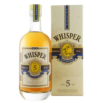 Whisper 5yo Rum 0,7l 40% + dárkový kartonek