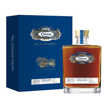 Coloma Rum Single Cask 2007 0,7l 50,3% + dárková kazeta