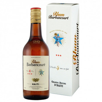Barbancourt  4yo *** 0,7l 40%