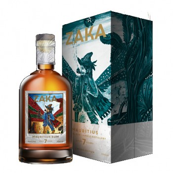 Zaka Mauritius Rum 0,7l 42% + dárkový box