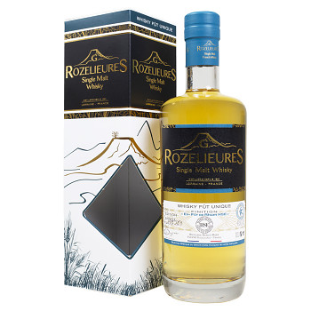 Rozelieures HSE Rum Finish LIMITED EDITION French Single Malt Whisky 0,7l 43% + GB