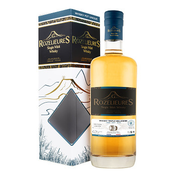 Rozelieures Triple Milessime 2006/2011/2016 LIMITED EDITION French Single Malt Whisky 0,7l 43% + GB