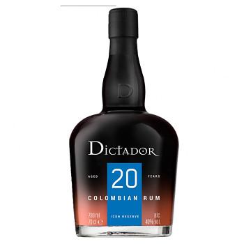 Dictador Solera 20yo Rum 0,7l 40%