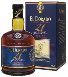 El Dorado Special Reserve 21yo Rum 0,7l 43%