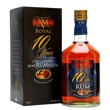 XM Royal Demerara 10yo Rum 0,7l 40%