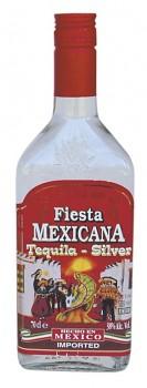 FIESTA MEXICANA Silver Tequila 0,7l 38%