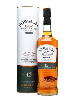 Bowmore 15yo Single Malt Whisky 0,7l 43%