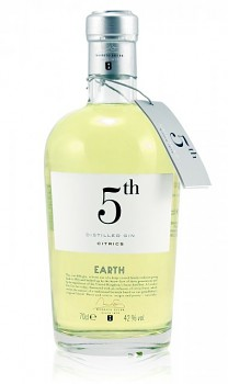 5 th Distilled Gin Earth                            70 cl 41%