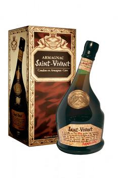 Armagnac Saint Vivant 0,7l 40% + dárkový kartonek